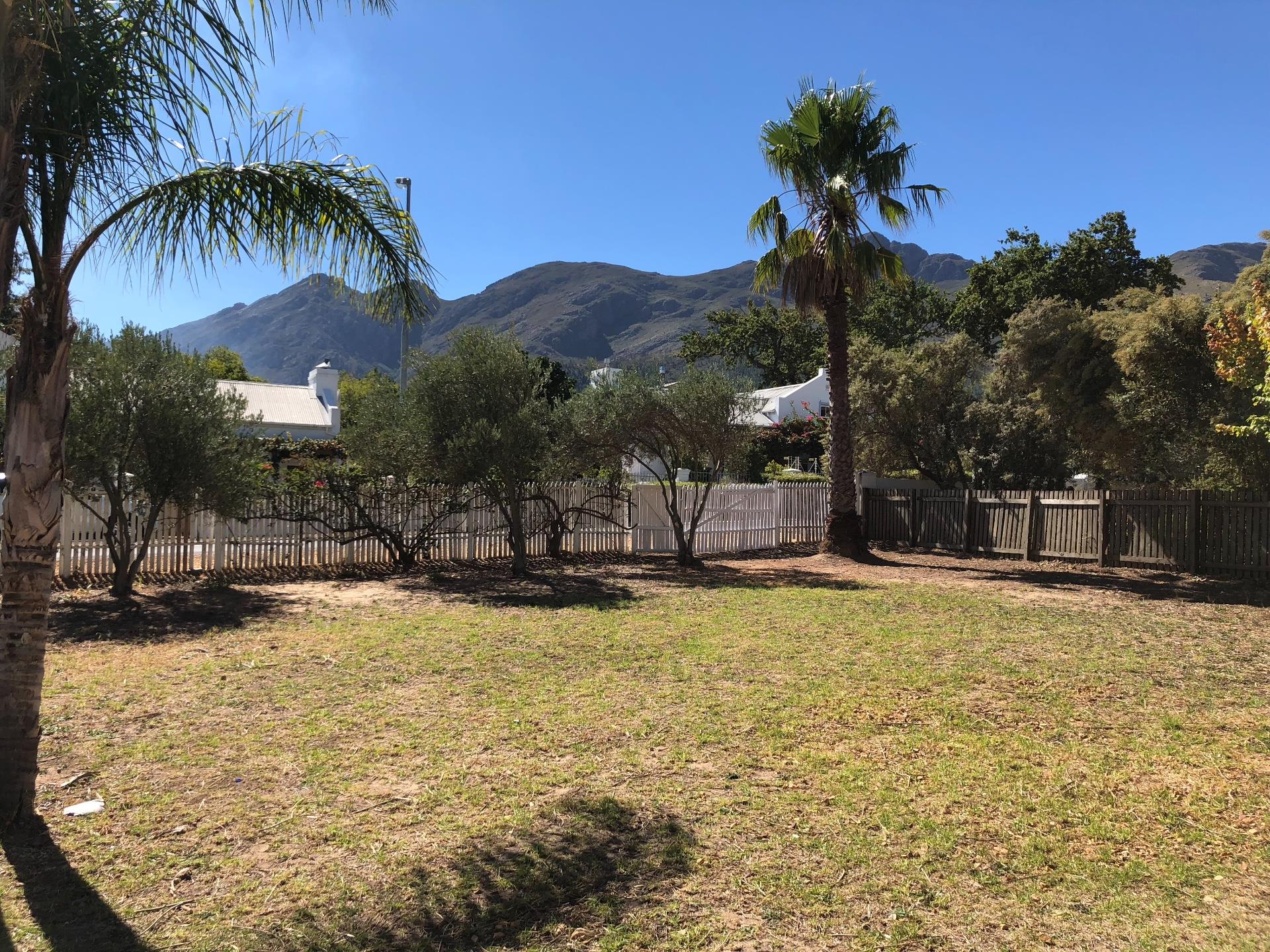 Vacant Land / Plot in Franschhoek For Sale