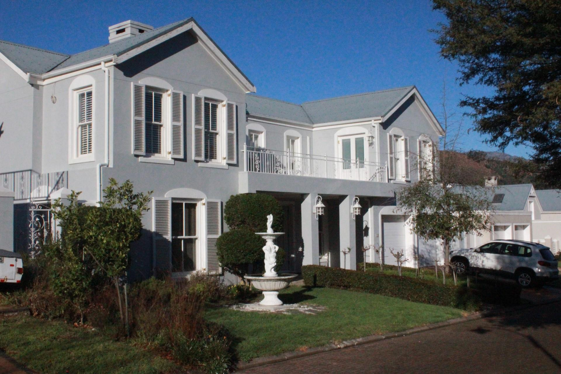 4 Bedroom House For Sale in Franschhoek