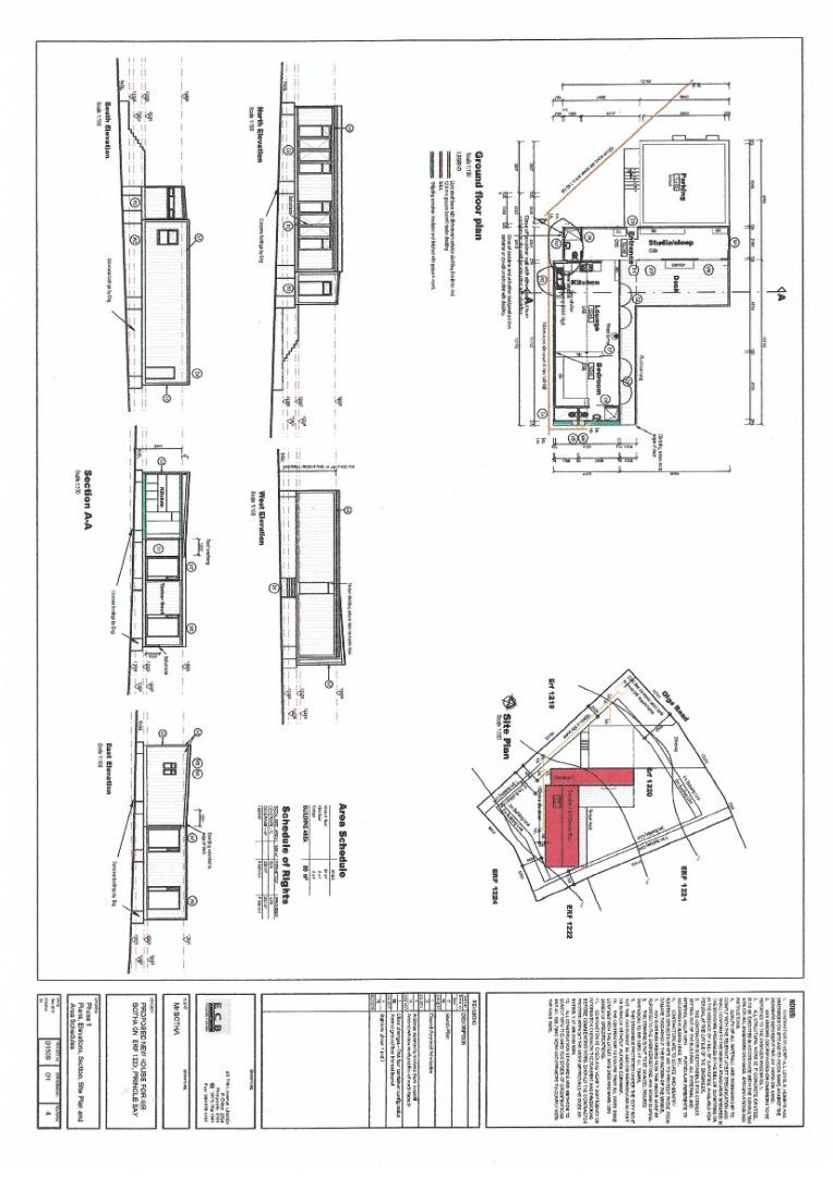 1 Bedroom House For Sale in Pringle Bay