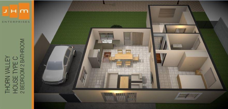3 Bedroom Townhouse For Sale in Brakwater