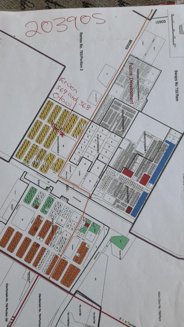 Vacant Land / Plot in Otavi For Sale