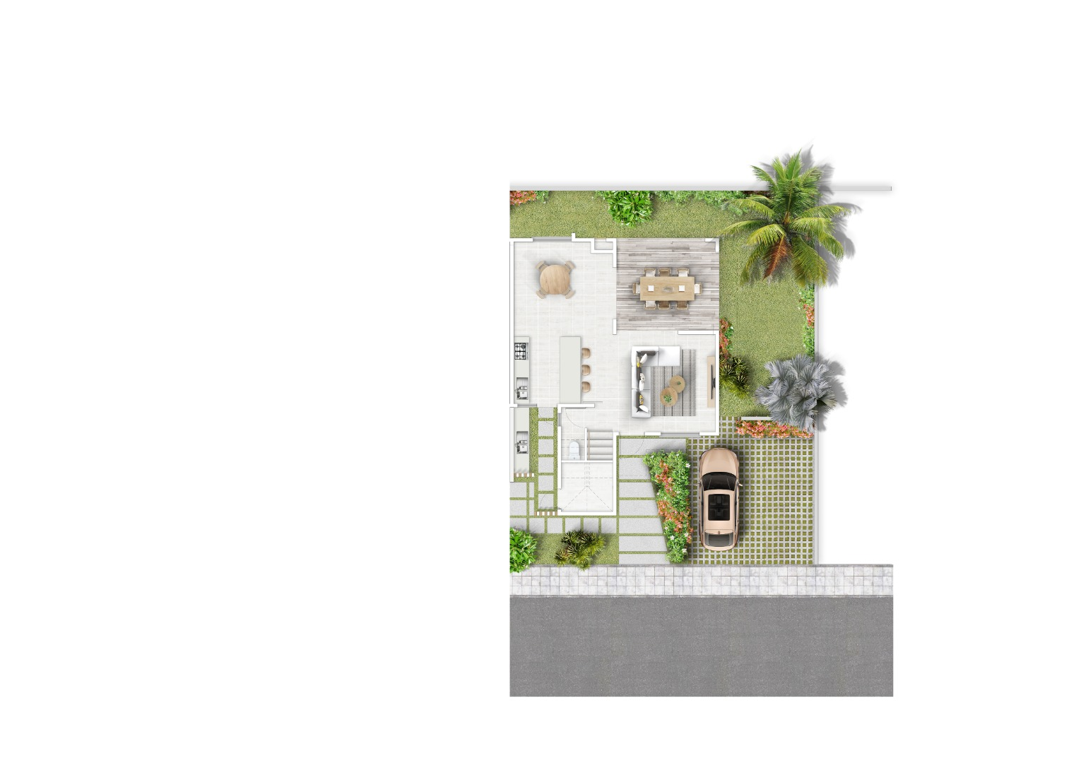 3 Bedroom Townhouse For Sale in Tamarin